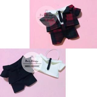 {15cm/20cm} Set vest cho doll 15cm, 20cm