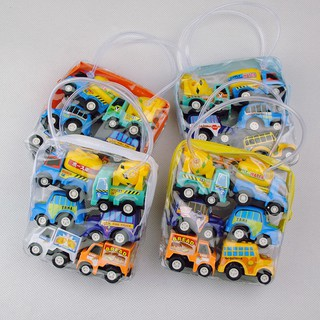 ♗【 6 mini numerous chariots pack 】 children toy car child boy intelligence development