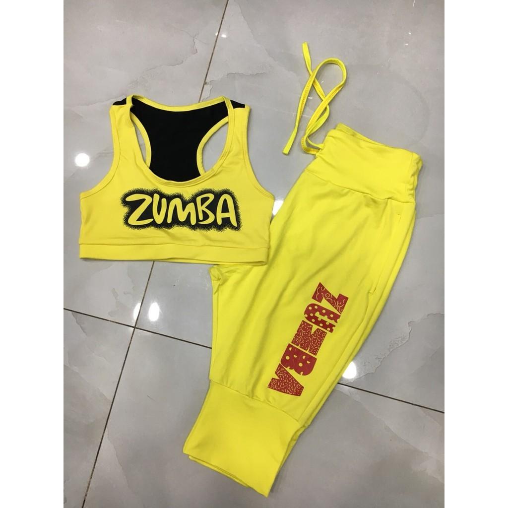 đồ tập zumba nữ,bộ thể dục nhịp điệu nữ,quần áo tập zumba