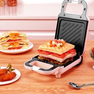 Máy làm bánh mì sandwich Máy ăn sáng nhẹ tại nhà máy nướng bánh mì làm nóng đa chức năng Máy ép bánh mì quà tặng nhà thumbnail