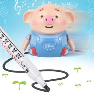 Đồ chơi trẻ em Heo cảm biến chạy theo nét vẽ đồ chơi thông minh cho trẻ
