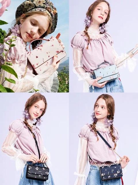 Túi xách nữ Just Star hoa nhí BST mới nhất 2019 - MG08