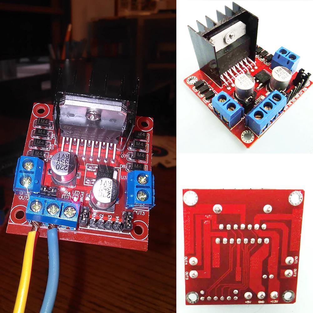 L298N Dual H Bridge Stepper Motor Driver Board DC Drive Controller Module For Arduino