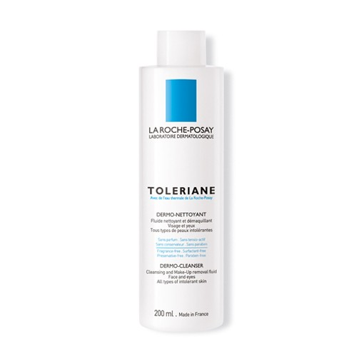 Sữa rửa mặt dạng sữa dành cho da rất nhạy cảm, dễ kích ứng Toleriane Dermo Cleanser - La Roche-Posay