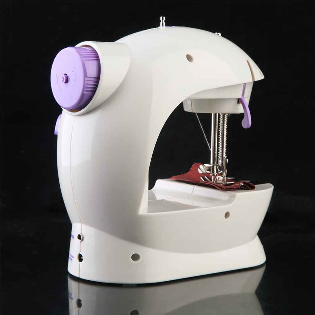 Mini Household Sewing Machine Double Wire Nutrition Portable Sewing Machine