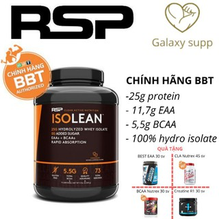 Whey RSP Isolean tăng cơ giảm mỡ 100% hydrolyzed isolate