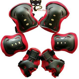 Đồ bảo hộ patin an toàn cho bé, Bảo vệ đầu gối, tay chân cao cấp cho bé, Phụ kiện patin trẻ em giá rẻ thumbnail