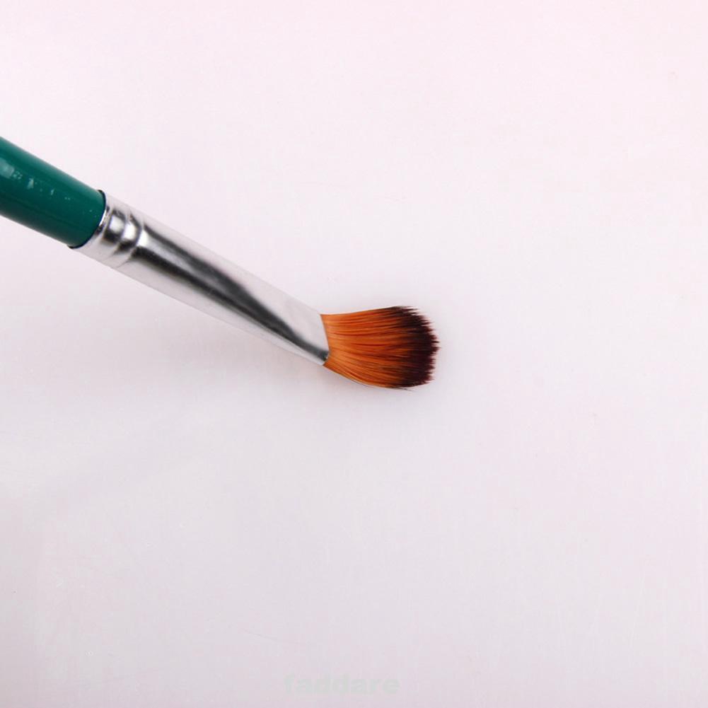 5PCS/Set Oil Painting Durable Art Supplies Drawing Tool Pen Watercolor Wood Handle