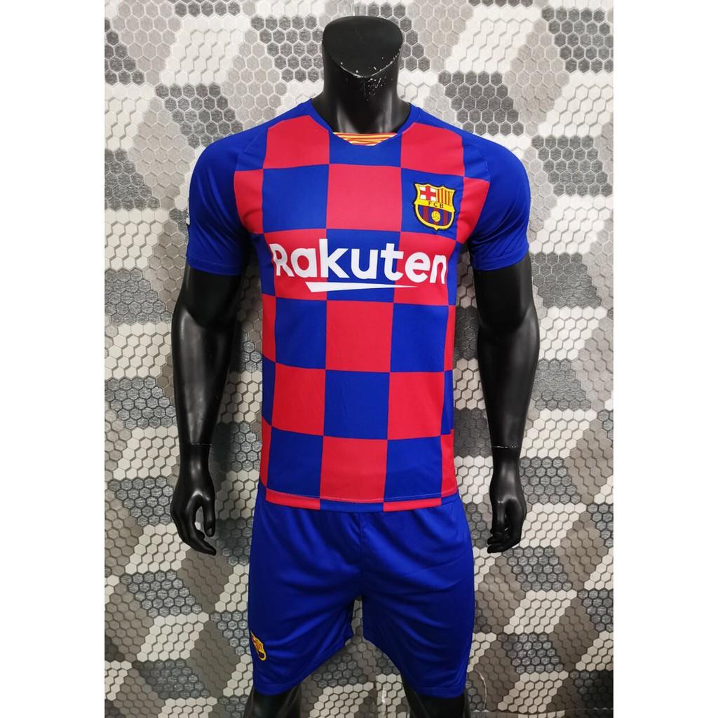 Bộ quần áo bóng đá Barca sân nhà mới nhất 2020
