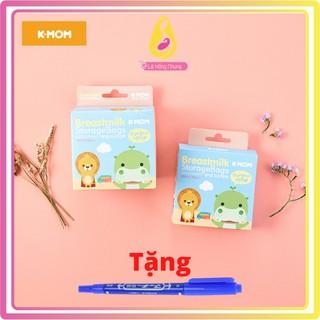 Túi Trữ Sữa K-Mom Hàn Quốc 200ml, 20 Hoặc 50 Túi – Tặng 1 Bút Ghi/Đơn Hàng