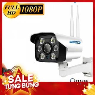 Camera WIFI Lắp Ngoài Trời FUll HD 1080P-Tích Hợp Đèn Led Chiếu Sáng