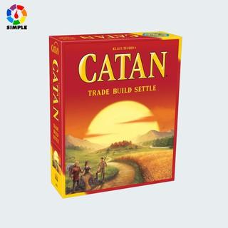 Trò chơi Catan phiên bản thứ 5 (English) 5th edition Boardgame bìa thumbnail