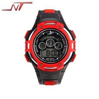(Sỉ)Đồng hồ thời trang thể thao nam điện tử NT - 9011 dây nhựa nhiều màu