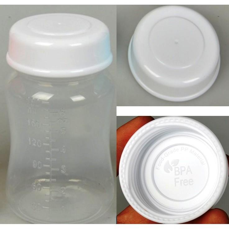 2 nắp tròn xoay cổ rộng trắng phụ kiện cho bình trữ sữa mẹ - 2520380 , 73357774 , 322_73357774 , 40000 , 2-nap-tron-xoay-co-rong-trang-phu-kien-cho-binh-tru-sua-me-322_73357774 , shopee.vn , 2 nắp tròn xoay cổ rộng trắng phụ kiện cho bình trữ sữa mẹ