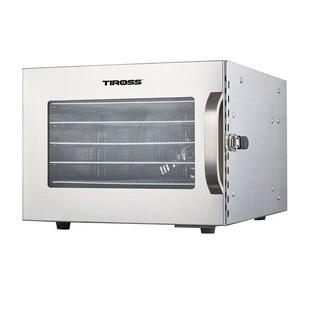 [Mã ELMALL300 giảm 7% đơn 500K] Máy sấy hoa quả thực phẩm Tiross TS-9683 6 khay sấy inox