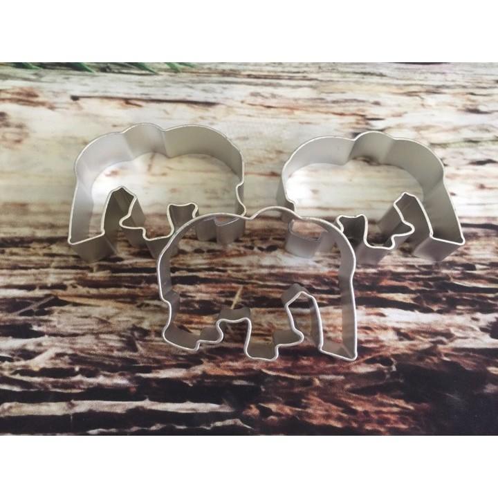 Cutter nhôm hình voi