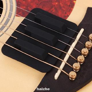 Silencer Feedback Control Practice Silicone Sound Weaken Guitar Accessory For Folk Acoustic
