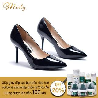 Giày cao gót bít mũi Merly 1182