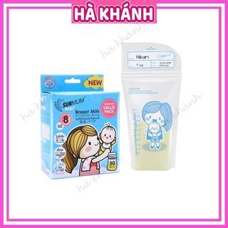 Túi trữ sữa Sunmum chính hãng an toàn tiện lợi với dung tích 250ml và 100ml thumbnail