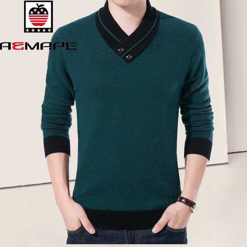 (v) ฤดูใบไม้ผลิใหม่ระดับ high - end เสื้อกันหนาวเสื้อบอททอมสะดวกสบาย