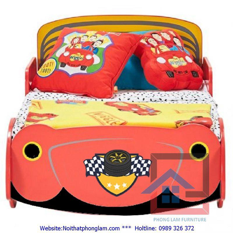 Giường trẻ em hình ô tô