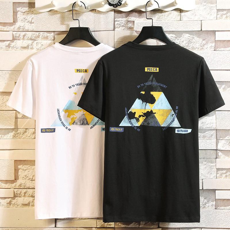 Summer summer youth Korean fashion loose male T-shirt trend Senma A21P men's clo