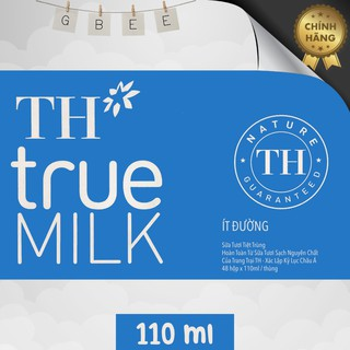 thùng sữa TH True Milk 110ml, đủ loại thumbnail
