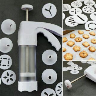 Yêu ThíchDụng cụ làm bánh quy với 12 mặt 6 đầu phun
