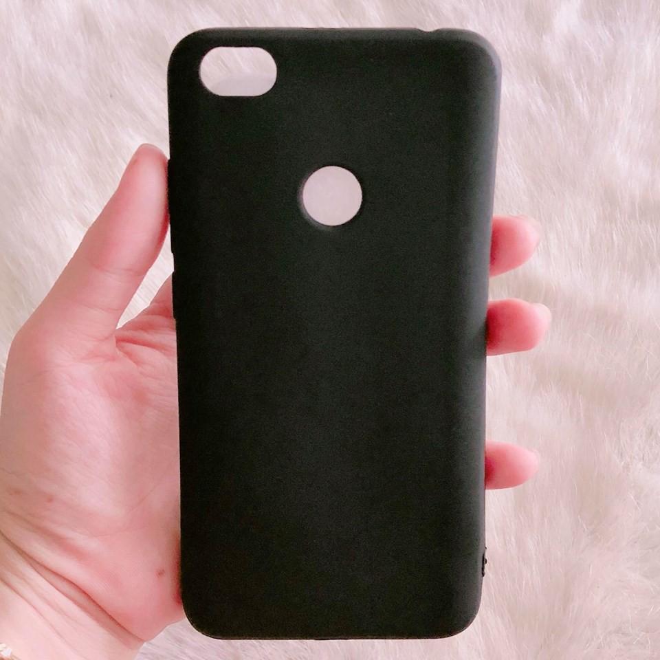 Ốp Xiaomi Redmi Note 5A / 5A Prime đen nhám cao cấp