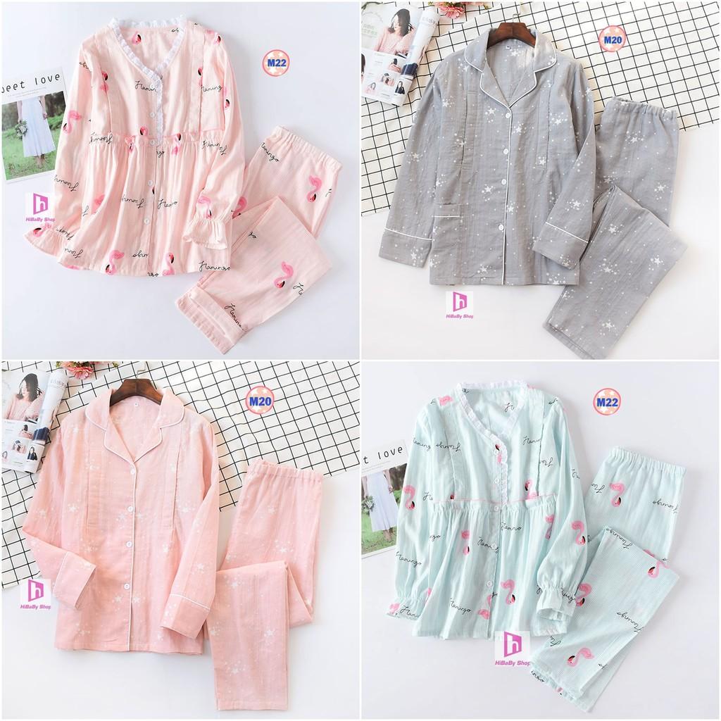 Pijama Sau Sinh (Thô Đũi) Mặc hè cực mát M2022