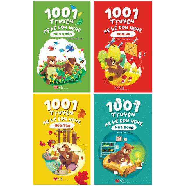 Sách - 1001 Truyện Mẹ Kể Con Nghe 4 cuốn