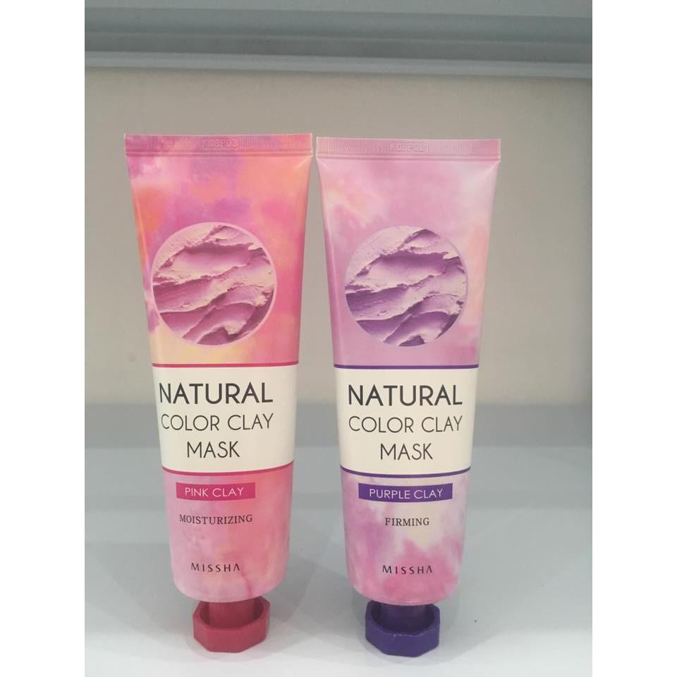 Mặt nạ đất sét Missha Natural Color Clay Mask về hàng SALE 50%