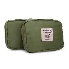 Bộ 2 túi đựng mỹ phẩm đa năng wanna be (Xanh lá) - 2593283 , 232954314 , 322_232954314 , 199000 , Bo-2-tui-dung-my-pham-da-nang-wanna-be-Xanh-la-322_232954314 , shopee.vn , Bộ 2 túi đựng mỹ phẩm đa năng wanna be (Xanh lá)
