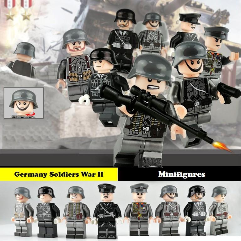 Minifigures – Lính đức thế chiến II – Germany Soldiers War II