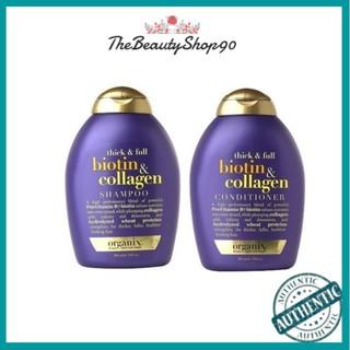 Bộ Gội Xả OGX Biotin & Collagen Làm Dày Tóc 385ml