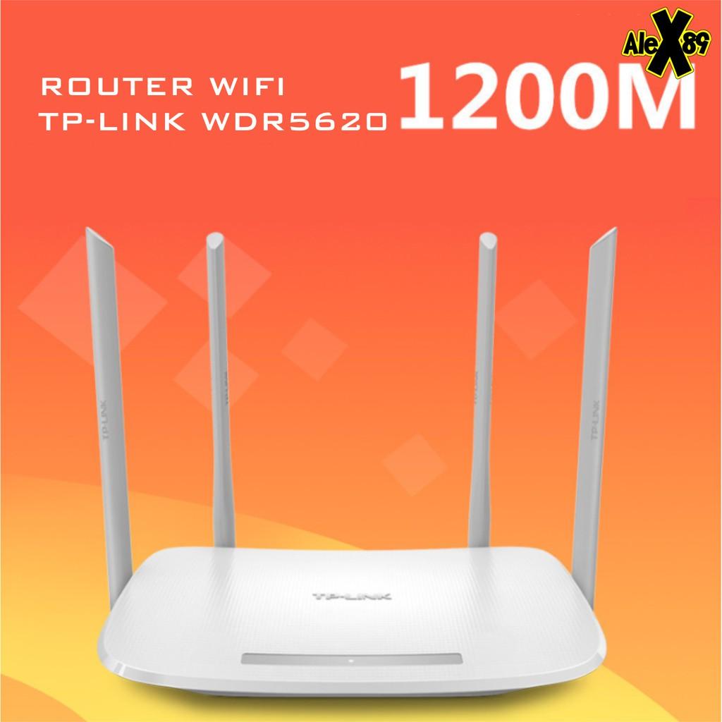 Thiết Bị Wifi TPLink 1200Mbps WDR5620-BH12 Tháng 1 đổi 1 trong 7 Ngày Giá chỉ 459.000₫