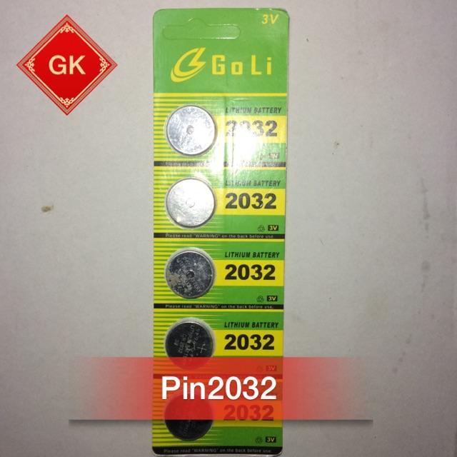 Pin 2032 - 3 Vol.