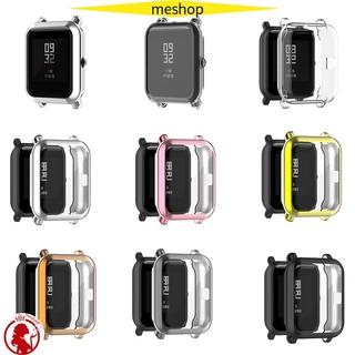 ME Vỏ bảo vệ khung TPU mới Vỏ mạ Đồng hồ thông minh Bảo vệ mềm / Nhiều màu