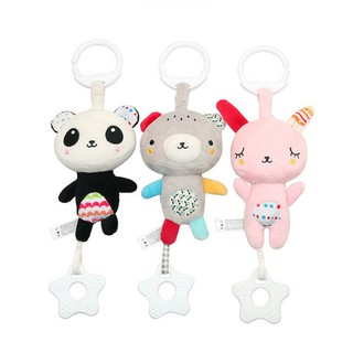 Multi-functional Toys for 0-1 Years Old Baby or Animal Teether Rattle Baby Carriage Crib Pendant