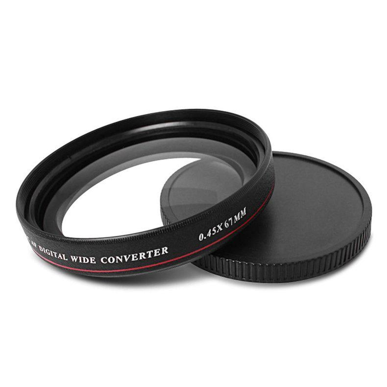 ZOMEI Ultra-thin 0.45X Pro MC AF Digital Wide Converter Wide Angle Filter