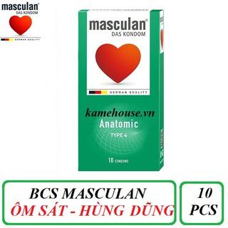 Bao Cao Su Masculan Das Kondom Anatomic (10 Cái thumbnail