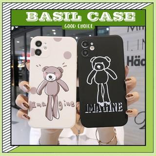 Ốp lưng iphone PANDA cạnh vuông in hình cặp gấu 6s/6plus/6splus/7plus/8plus/x/xs/xs max/11/11promax/12pro/12promax