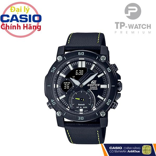 Đồng Hồ Nam Casio Edifice ECB-20CL-1ADF Chính Hãng - Dây da | Casio Edifice ECB-20CL