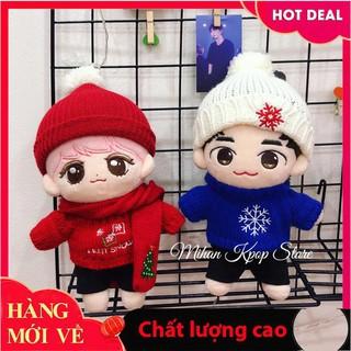 [Hỗ trợ giá] Áo, mũ len cho doll 20cmm_Đảm bảo chất lượng