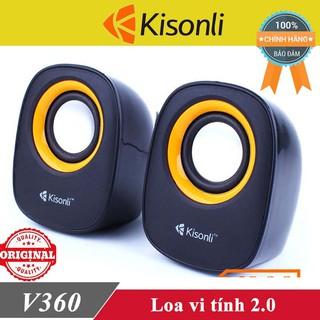 Loa vi tính Kisonli V360 chính hãng ♥️Freeship♥️ Loa máy tính Kisonli K-100