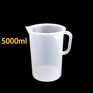Bộ 2 Ca Đong Nhựa Có Vạch Chia Định Lượng 5000ml