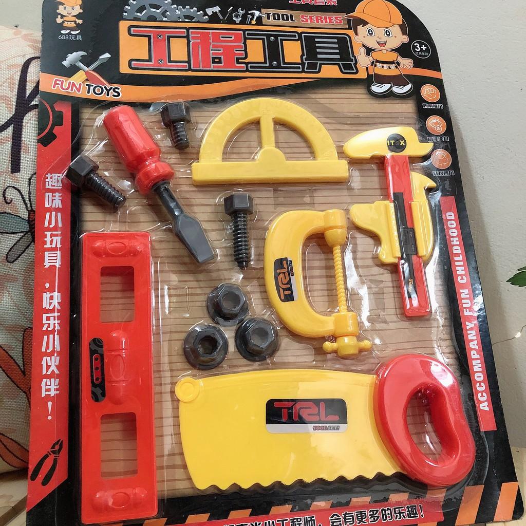 [ĐỒ CHƠI TRÍ TUỆ] Bộ đồ chơi cơ khí, kĩ sư cho bé trai – Shubishop.vn