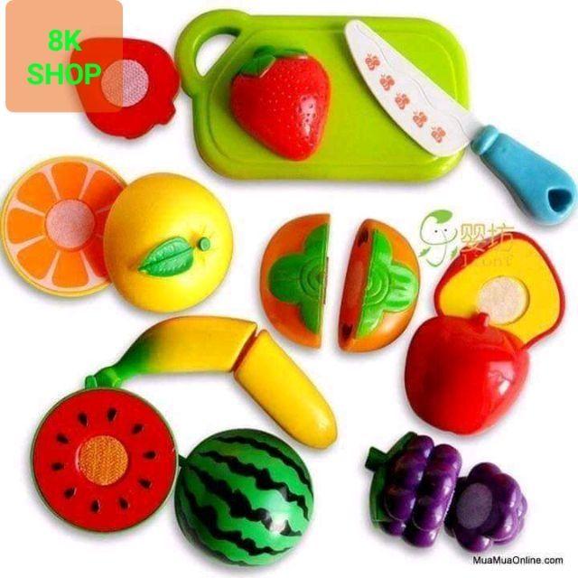 Túi đồ chơi thái hoa quả nhựa cao cấp