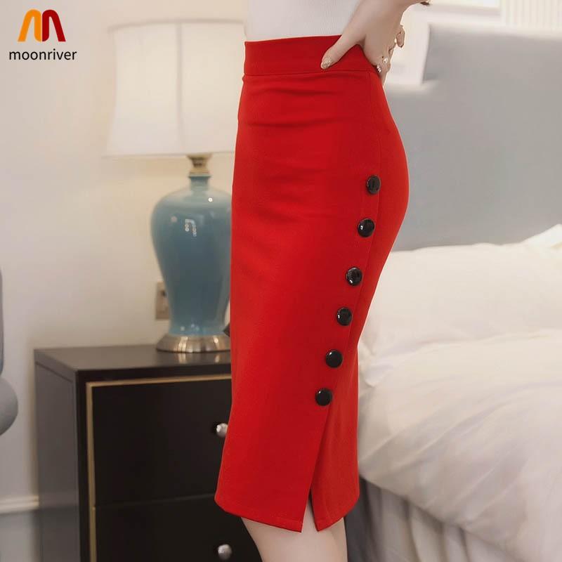 Chân váy ôm công sở kiểu dáng đơn giản thanh lịch dành cho nữ