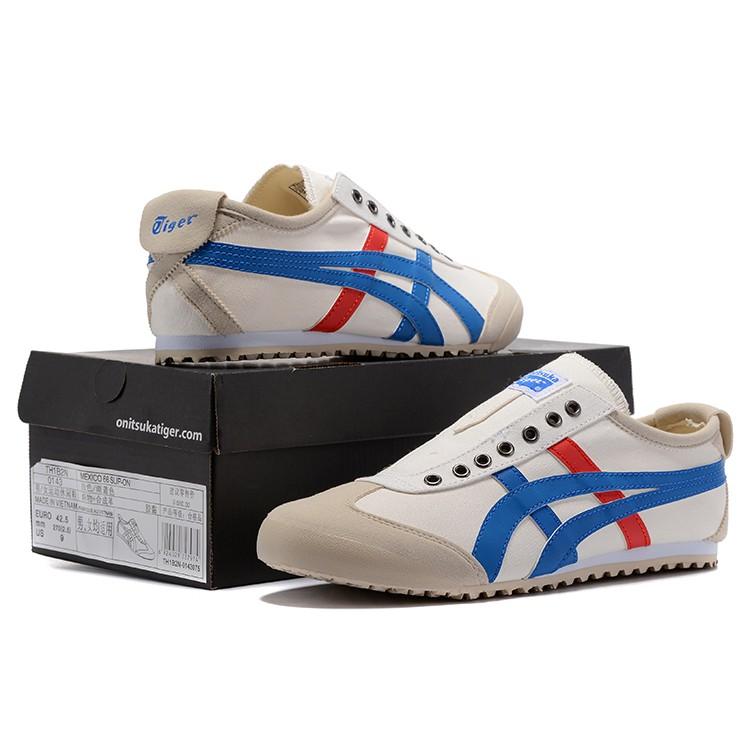 Original Asics tiger Canvas shoes flatshoes running shoes for men/women low top199
